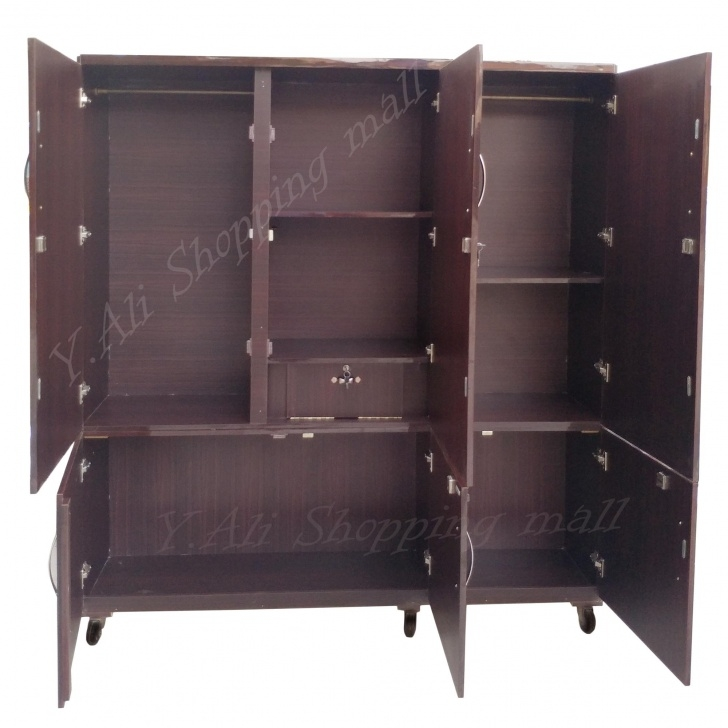 Wonderful 6X6 Feet Large Wooden Lamination Sheet Wardrobe Cupboard Almari Wardrobe Almari Photos Photo