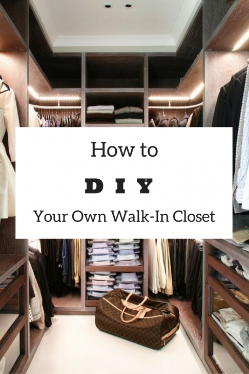 Wonderful Easy Diy: How To Build A Walk-In Closet Everyone Will Envy Walk In Closet Ideas Do It Yourself Pics