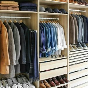 Wonderful Men's Guide To Capsule Wardrobe - Build A Perfect Capsule Wardrobe Mens Wardrobe Furniture Picture