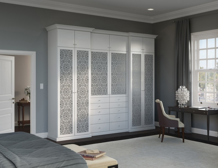 Wonderful Traditional Home Design Closets & Systems | California Closets White Wardrobe Traditional Picture